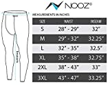 Nooz Men's Quick Dry Powerflex Compression