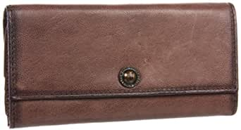 FRYE Melissa Snap Vintage Wallet,Taupe,One Size