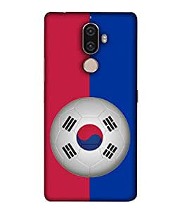 ColorKing Football South Korea 09 Multicolor shell case cover for 1