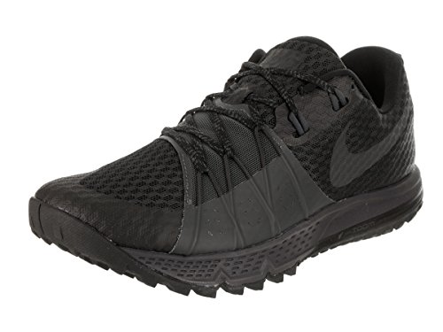 NIKE Men's Air Zoom Wildhorse 4 Running Shoe Black/Anthracite-Anthracite 10.0 ()