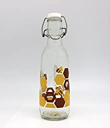 Love Bottle Honey Love Our Bees Bottle, Small, Multicolor