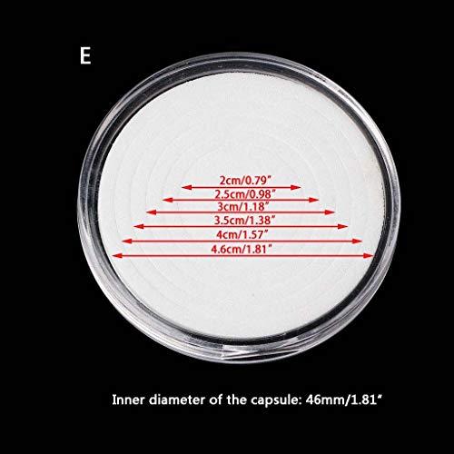 "Roll of 1000 /""1/"",1 Diameter Fluorescent Red DayMark IT112196 DuraMark Permanent Circle Deli Label"