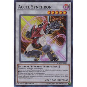 Yu-Gi-Oh! - Accel Synchron (SDSE-EN042) - Structure Deck: Synchron Extreme - 1st Edition - Super Rare (Yugioh Best Synchro Monsters)
