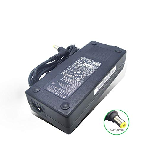 New 19V 6.32A 120W 6.3 X 3.0mm AC Charger Adapter Compatible with Delta Lenovo 36001857 0B56090 54Y8865 C340 ADP-120ZB BB Laptop Power Supply
