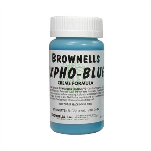 Oxpho-Blue Professional Grade Cold Gun Blue (Cream Formula)