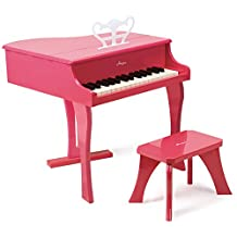 Hape Happy Grand Piano in Pink Toddler Wooden Musical Instruments