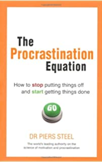 Pdf procrastination equation