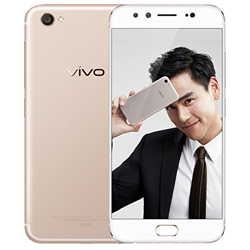 Vivo X9 Snapdragon 625 Octa Core 4GB RAM 64GB ROM 5.5' FHD 4G LTE Global Network 20MP Dual Front Cam Flash Charge (Gold)