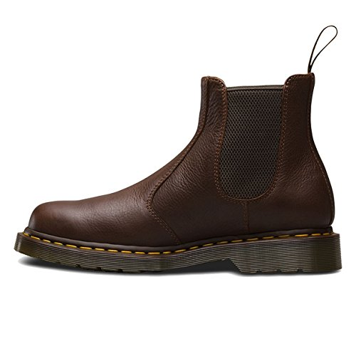Brown Tumbled Leather Air (Dr. Martens Men's 2976 CARPATHIAN Chelsea Boot, Tan, 8 UK/9 M US)