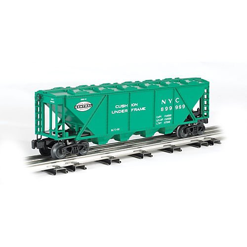 4-BAY COVERED HOPPER - 3-RAIL - READY TO RUN - WILLIAMS(TM) -- NEW YORK CENTRAL (JADE GREEN, SYSTEM LOGO)