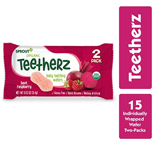Sprout Organic Teetherz Rasberry Teething product image