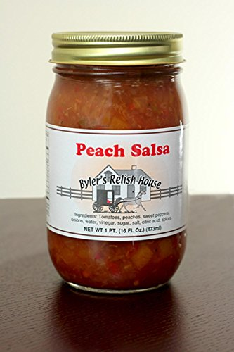 Byler's Homemade Amish Country Peach Salsa 16oz