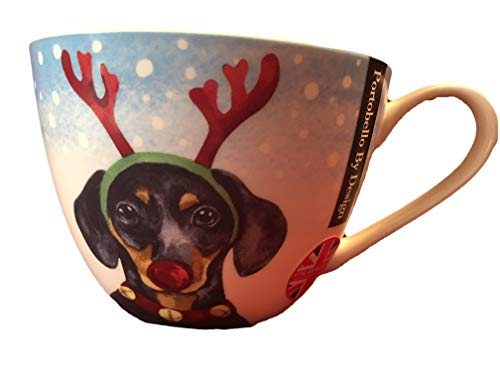 Portobello By Inspire British Bone China Holiday Mug Cup (Dog Seasons ()
