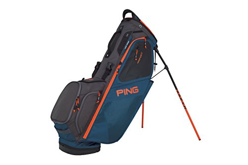 PING 2018 HOOFER 14 181 STAND GOLF BAG 07 DARK TEAL/GRAPHITE/ORANGE by Ping