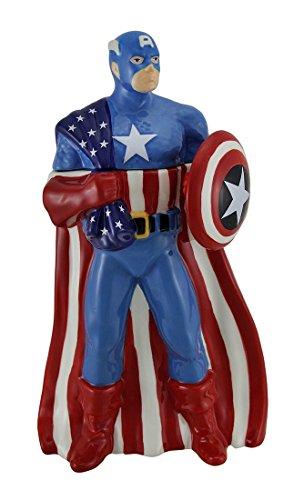 Marvel Captain America Westland Giftware Cookie Jar ()