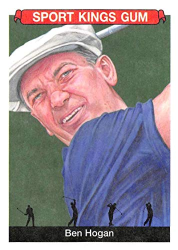 2018 Sportkings Volume One Retail Multi Sport #12 Ben Hogan Golf Collectible Retro Themed Trading Card Set From Sage
