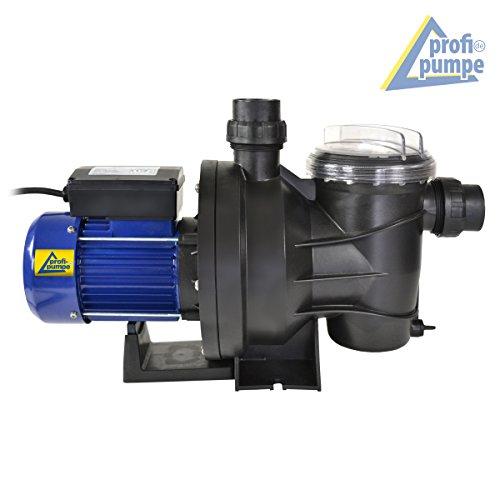 SOMMER-SONDERPREIS! Schwimmbadpumpe POOL-STAR-1200 bis 23.000L/h Poolpumpe - Filterpumpe Schwimmbad / Swimmingpool ab 40cbm bis max.ca. 100-120cbm energiesparsam zuverlässig und effektiv, leichte Filterreinigung, mit 1,2m Kabel