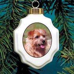 (Christmas Ornament: Norfolk Terrier)
