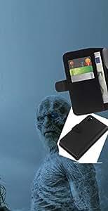 JackGot ( Blanca Walker ) Sony Xperia Z3 D6603 la tarjeta de Crédito Slots PU Funda de cuero Monedero caso cubierta de piel