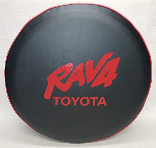 Tire Rav4 Spare (SpareCover abc-Rav4-28-Red-TR Logo-Red 28
