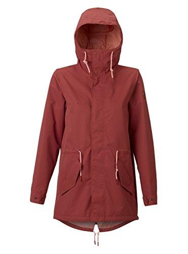 2018 Womens Snowboard Jacket - Burton Women's Sadie Rain Jacket, Marsala, Medium