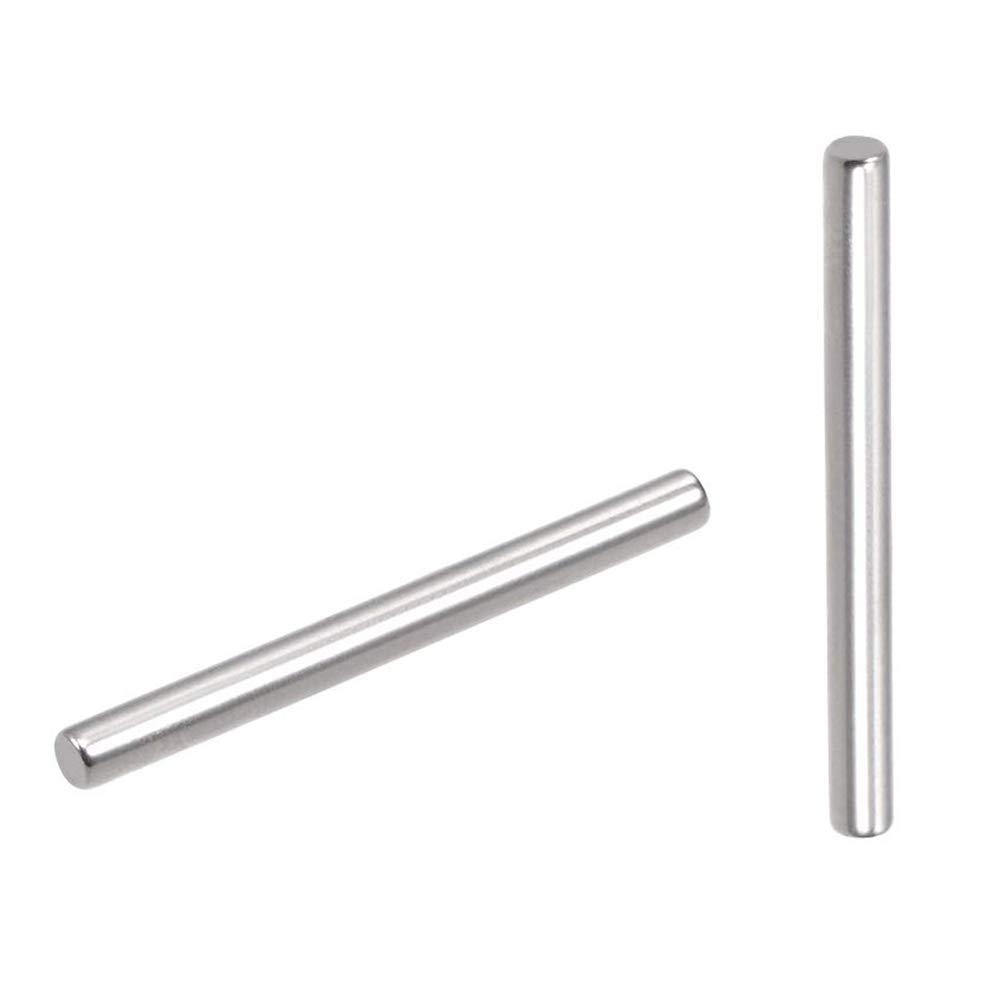 Yesallwas Dowel Pin de acero inoxidable estante soporte Pin Metal Fasten Elementos utilizados en ubicaci/ón precisa