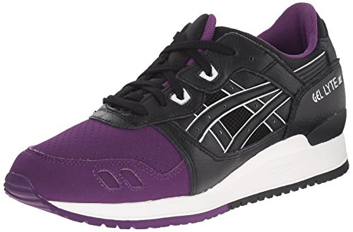 Asics Menns Gel-lytt Iii Retro Joggesko Purpur / Sort