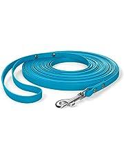 SNOOT släpkoppel med handrem, 10m lang, 10mm breit, Cyan Blau