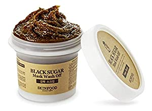 Skinfood Black Sugar Mask Wash Off Exfoliator (Pack of 10)