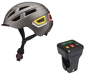 Crivit Casco de Bicicleta Inteligente M/L 58/61 para Hombre y Mujer, Casco para Bicicleta con 26 Canales de Aire para Uso en Ciudad, en la Vida Cotidiana y en excursiones: Amazon.es: Deportes