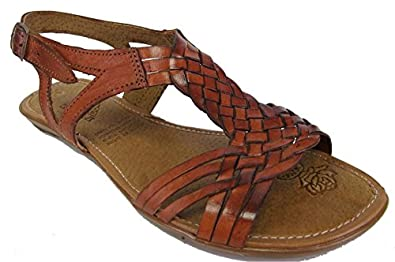 Amazon.com | Women's Soft Leather Handmade Sandals Flip