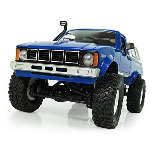 (WPL C24 2.4G DIY RC Car KIT 4WD Remote Control Crawler Off-Road Buggy Moving Machine Kids Toys by Aiyouxi)