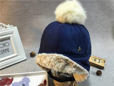 MEIDI Home Cappello Bambino Autunno e Inverno più paraorecchie in Velluto  Berretto da Baseball Palla Cappello 38ac367d97f1