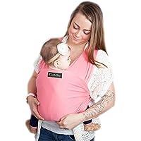 Porte bébé CuddleBug - Écharpe de portage grise pour bébé - Livraison gratuite - Taille Unique - Satisfaction garantie ou argent remis