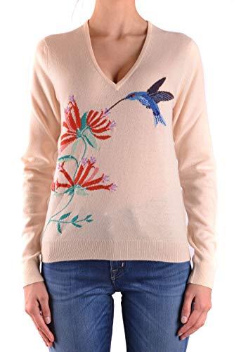 Ballantyne Women's Mcbi34311 Beige Cashmere Sweater