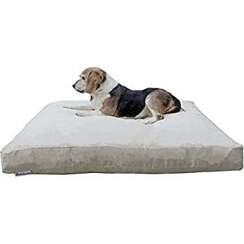 Amazon.com : Dogbed4less Large Memory Foam Dog Bed for