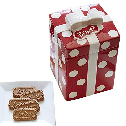 - Biscoff Ceramic Cookie Jar