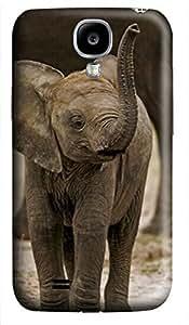 iCustomonline Baby Elephant Case for Samsung Galaxy S4 I9500 Hard 3D
