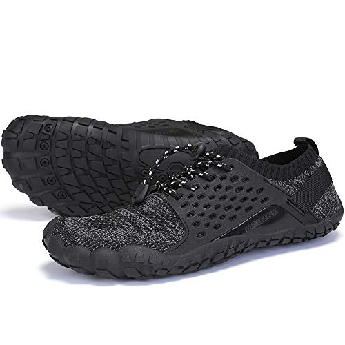 Oberm Women's Minimalist Trail Running Shoes Wide Toe Box Barefoot Trainers Shoes