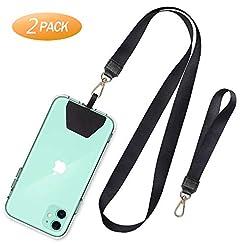 SHANSHUI Phone Lanyard,2 Pack Neck Strap...