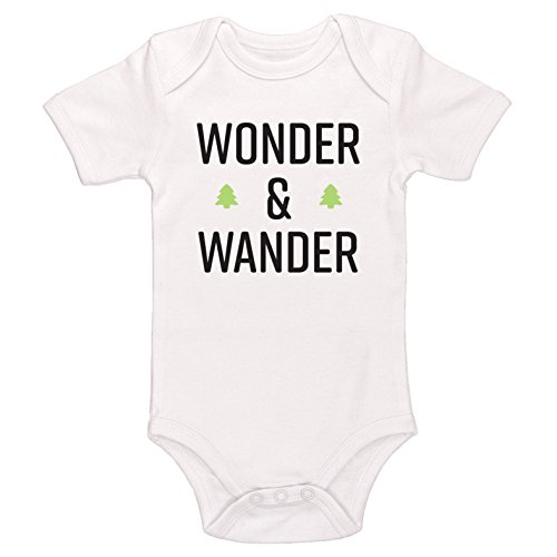 Starlight Baby Wonder and Wander Bodysuit (White, 3-6 Months)