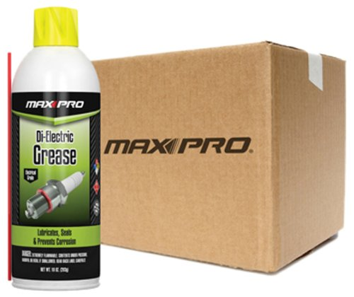 Max-Pro DG-002-114-12PK Di-Electric Grease - 10 oz., (Pack of 12)