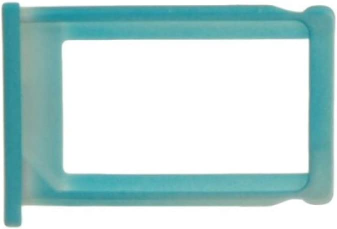 Blue SIM Card Tray for Apple iPhone 3G 3GS with Glue Card