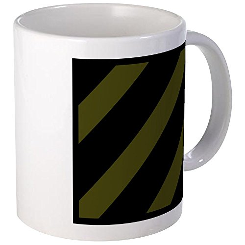 Infantry Division Coffee Mug (CafePress - 3Rd Infantry Division - Subdued Mugs - Unique Coffee Mug, Coffee Cup)