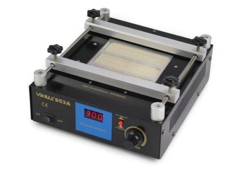 220V 50℃-350℃ PCB Preheater BGA Rework Station Ceramic Preheating Oven Station Digital Display