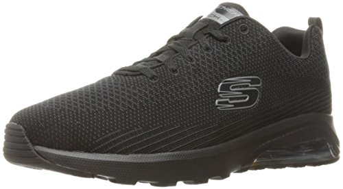 (Skechers Sport Men's Skech Air Varsity Oxford,Black,9.5 M)