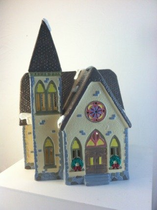 Dept 56 Original Snow Village Redeemer Church 5127-6 by Dept 56 Original Snow Village (Image #1)
