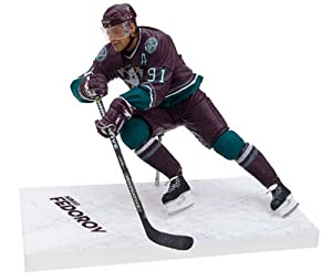 NHL Series 9 Figure: Sergi Fedorov with Maroon Jersey