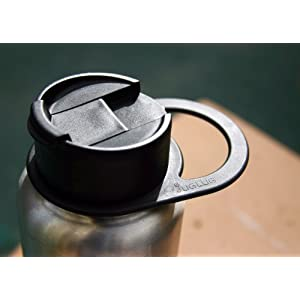 Juglug - Handle for Hydro Flask Type Bottles (Black) 2-pack