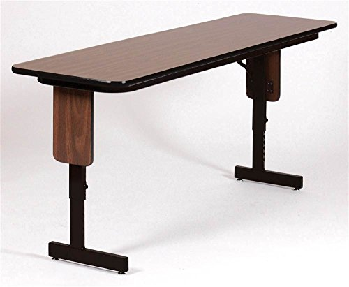 Correll SPA1860PX-15 Adjustable Height Folding Seminar Table, Panel Leg, Rectangular Top, 18